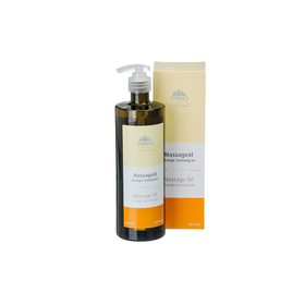 Pino Massageöl Orange Lemongras 100% Naturrein 500 ml