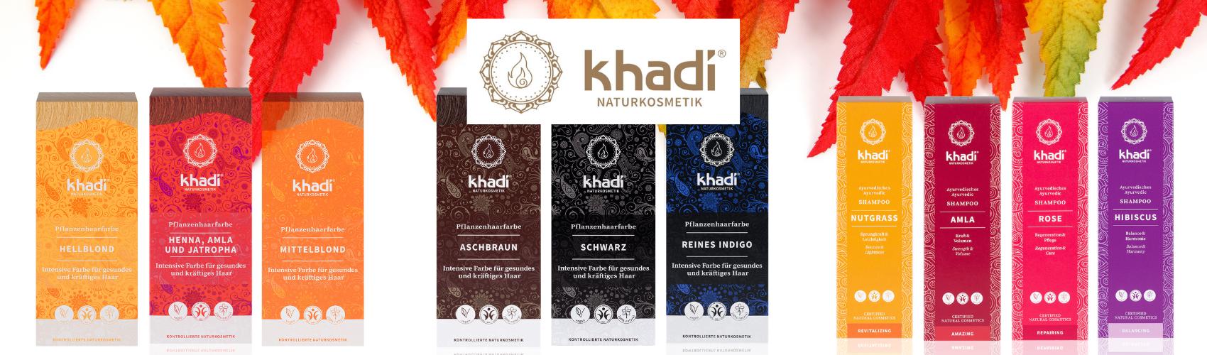 Khadi Haarpflege Herbst 2020